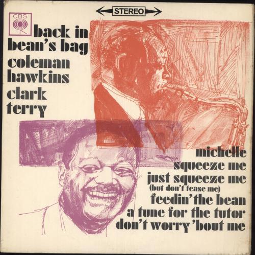 Coleman Hawkins Back In Bean's Bag vinyl LP album (LP record) UK CH3LPBA448109