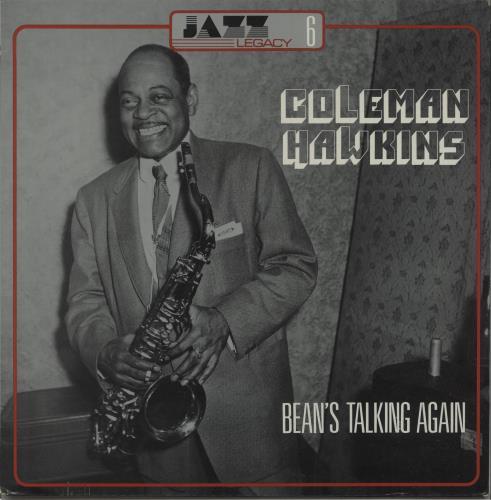 Coleman Hawkins Bean's Talking Again vinyl LP album (LP record) French CH3LPBE669783