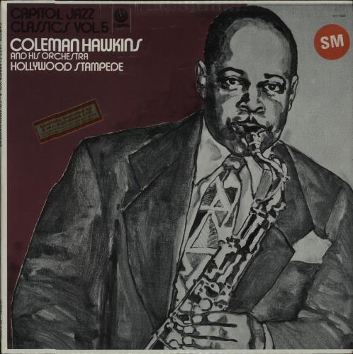 Coleman Hawkins Capitol Jazz Classics Vol. 5 - Hollywood Stampede - Sealed vinyl LP album (LP record) US CH3LPCA668458