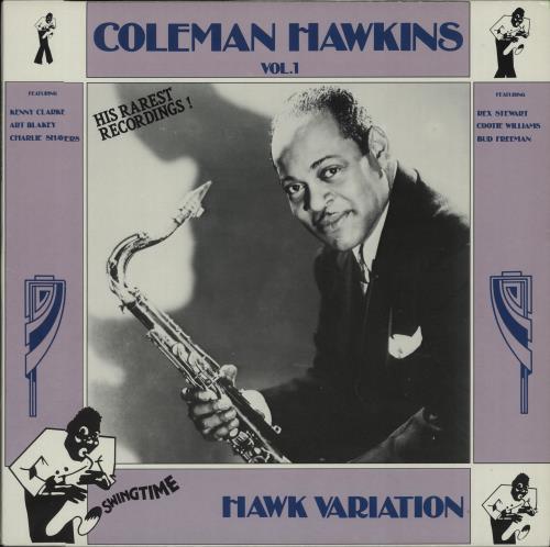 Coleman Hawkins Hawk Variation Vol. 1 vinyl LP album (LP record) Italian CH3LPHA669954