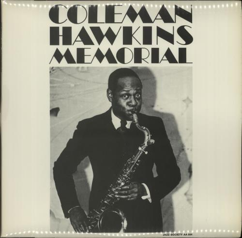 Coleman Hawkins Memorial vinyl LP album (LP record) Swedish CH3LPME668243