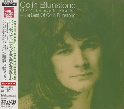Colin Blunstone Best Of CD album (CDLP) Japanese BLNCDBE207811