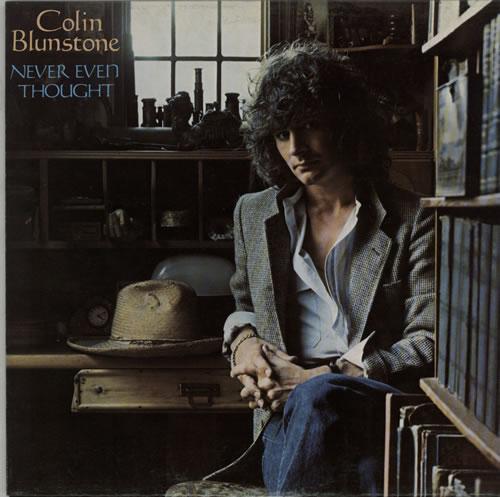 Colin Blunstone Never Even Thought vinyl LP album (LP record) Dutch BLNLPNE624918