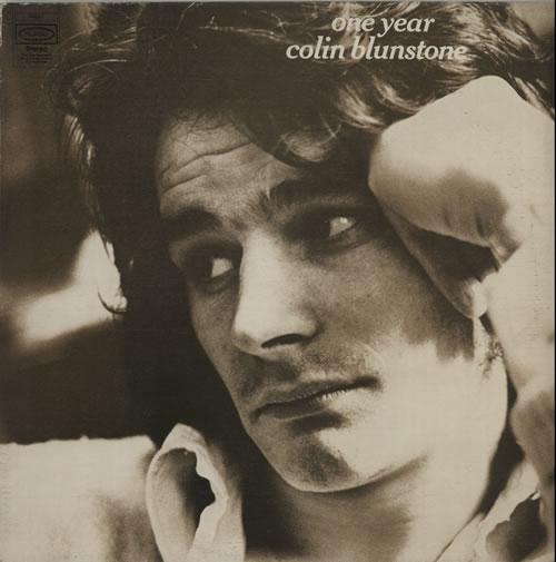 Colin Blunstone One Year - Textured - EX vinyl LP album (LP record) UK BLNLPON642892
