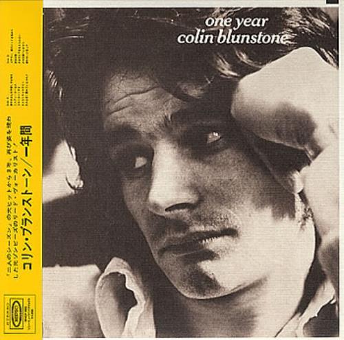 Colin Blunstone One Year CD album (CDLP) Japanese BLNCDON351239