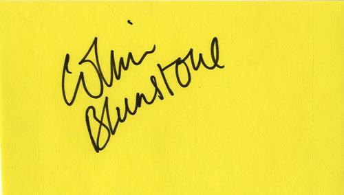 Colin Blunstone Page From An Autograph Book memorabilia UK BLNMMPA601675