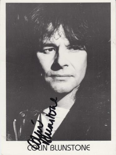 Colin Blunstone Signed Photograph photograph UK BLNPHSI732562