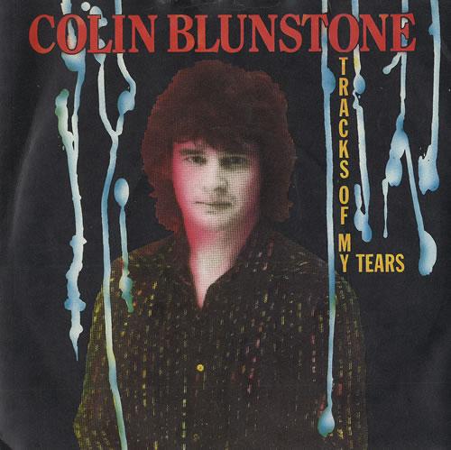 "Colin Blunstone Tracks Of My Tears 7"" vinyl single (7 inch record) UK BLN07TR461860"
