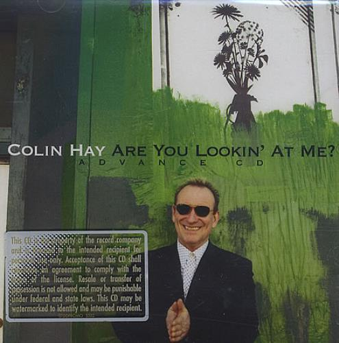 Colin Hay Are You Lookin' At Me? CD-R acetate US CLHCRAR404845