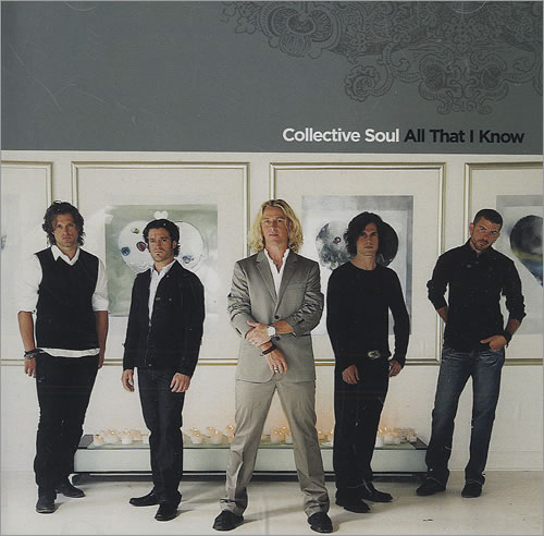 """Collective Soul All That I Know CD single (CD5 / 5"""") US CS0C5AL457778"""