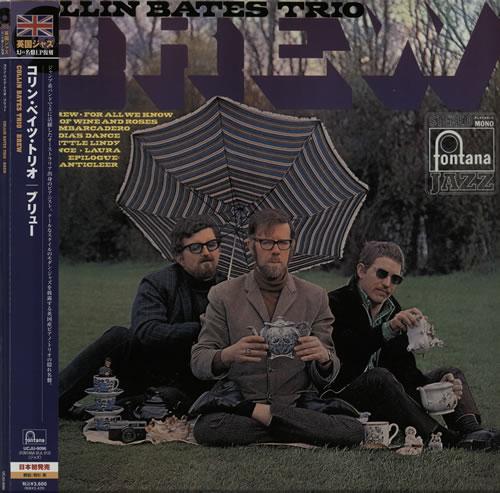 Collin Bates Brew - 180gm vinyl LP album (LP record) Japanese CJGLPBR581892