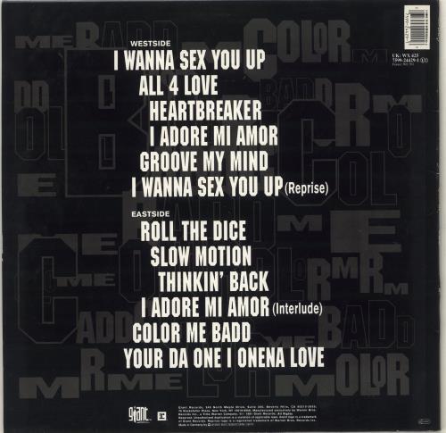 Color Me Badd C.M.B. vinyl LP album (LP record) German CMBLPCM712934