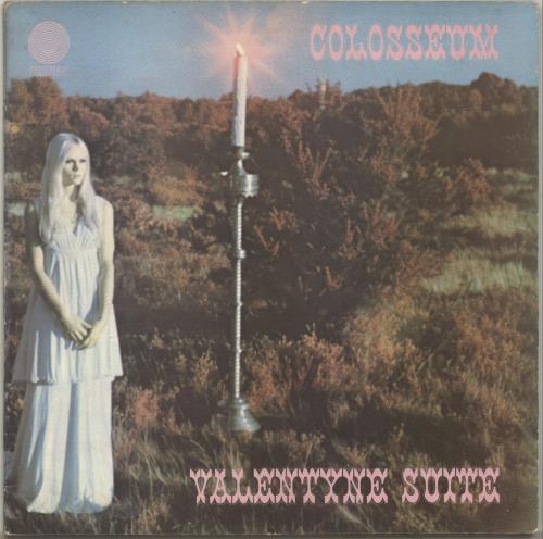 Colosseum Valentyne Suite - 1st - EX vinyl LP album (LP record) UK SEULPVA489706