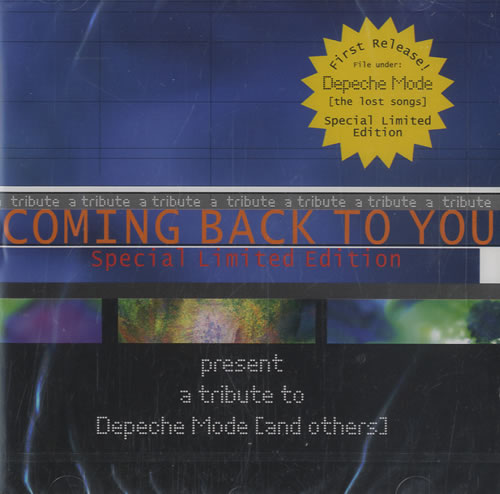 Coming Back To You Present A Tribute To Depeche Mode [And Others] CD album (CDLP) German CQUCDPR476900