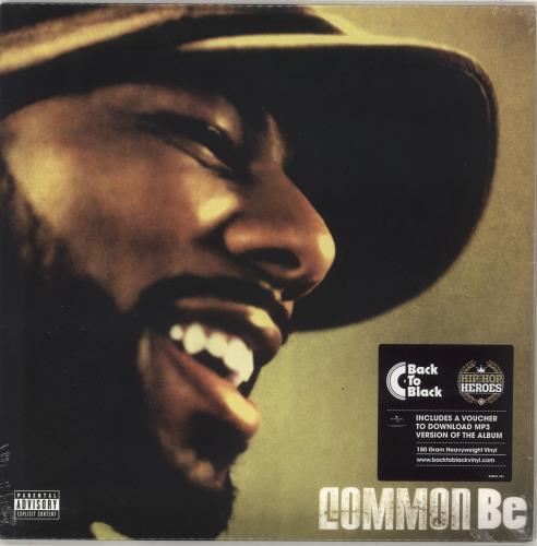 Common Be - 180gram Vinyl - Sealed 2-LP vinyl record set (Double Album) UK OMM2LBE732563