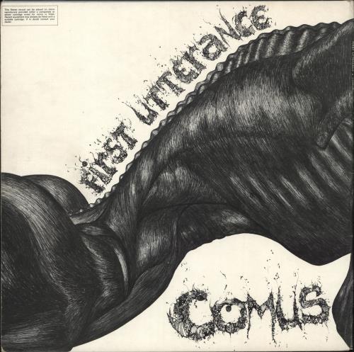 Comus First Utterance - 1st vinyl LP album (LP record) UK C.ULPFI608200