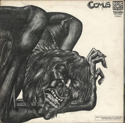 Comus First Utterance - VG vinyl LP album (LP record) UK C.ULPFI579324
