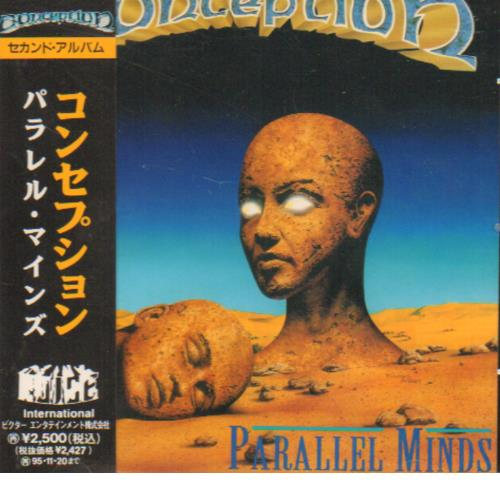 conception parallel minds cd album cdlp japanese c8ncdpa643162