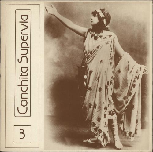 Conchita Supervia Volume Three vinyl LP album (LP record) UK 1U-LPVO746729