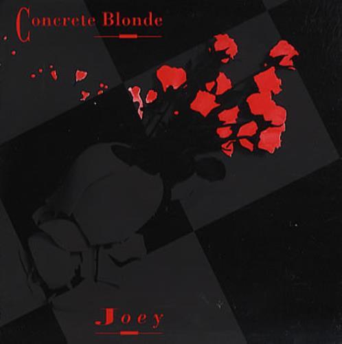 "Concrete Blonde Joey CD single (CD5 / 5"") US CONC5JO358853"