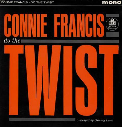 Connie Francis Do The Twist vinyl LP album (LP record) UK CNFLPDO383090