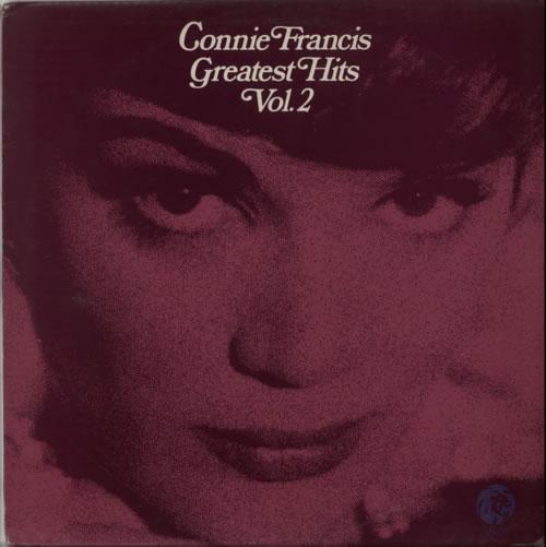 Connie Francis Greatest Hits Vol. 2 vinyl LP album (LP record) UK CNFLPGR616840