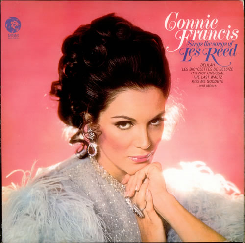 Connie Francis Sings The Songs Of Les Reed Uk Vinyl Lp