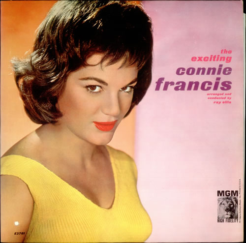 Connie Francis The Exciting Connie Francis Us Vinyl Lp