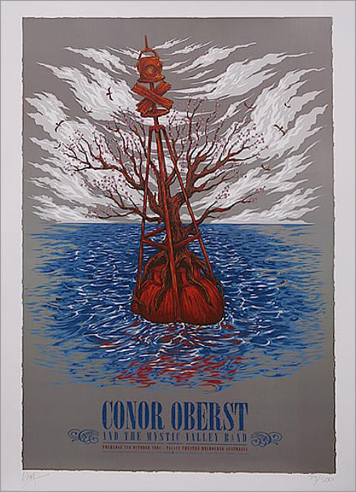 Conor Oberst Australian Tour Poster poster Australian CN5POAU452736