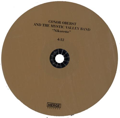 "Conor Oberst Nikorette CD single (CD5 / 5"") US CN5C5NI477598"