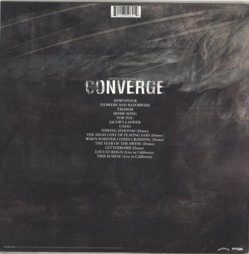 Converge Unloved and Weeded Out - Black Vinyl vinyl LP album (LP record) Dutch E3TLPUN714070