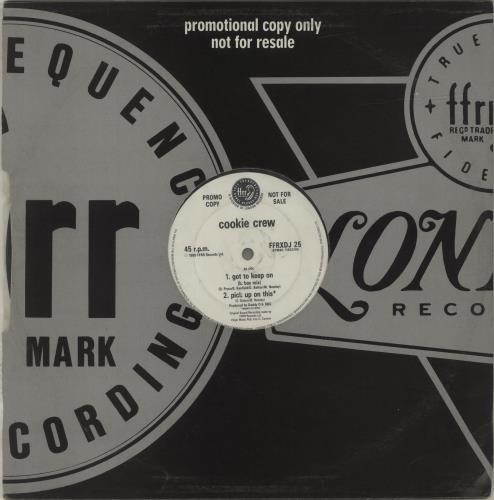 "Cookie Crew Got To Keep On 12"" vinyl single (12 inch record / Maxi-single) UK CCW12GO678589"