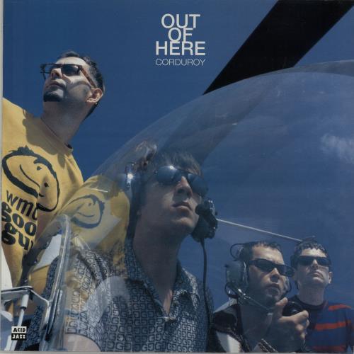 Corduroy Out Of Here vinyl LP album (LP record) UK CO2LPOU645109