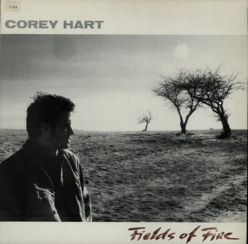 Corey Hart Fields Of Fire vinyl LP album (LP record) UK CORLPFI589282