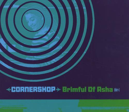 "Cornershop Brimful Of Asha CD single (CD5 / 5"") UK CNPC5BR414579"