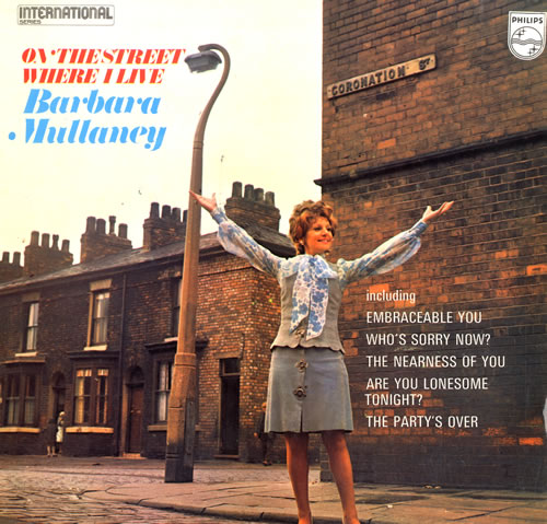 Coronation Street On The Street Where I Live vinyl LP album (LP record) UK 8CSLPON550435