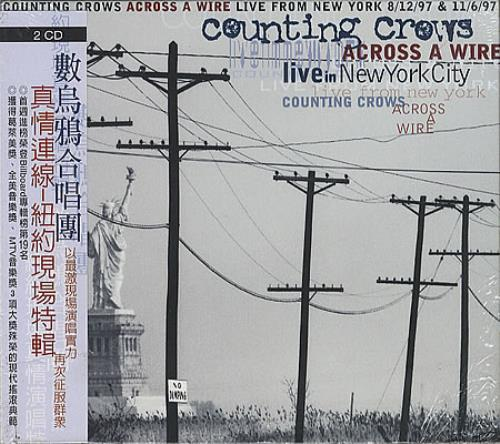 Counting Crows Across A Wire 2 CD album set (Double CD) Taiwanese CNT2CAC296088