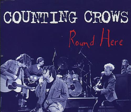 """Counting Crows Round Here CD single (CD5 / 5"""") UK CNTC5RO126076"""