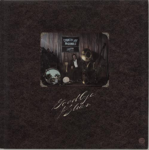Country Joe McDonald Goodbye Blues vinyl LP album (LP record) UK CJMLPGO674939