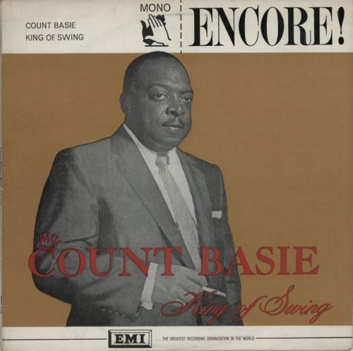 Count Basie King Of Swing vinyl LP album (LP record) UK CUILPKI590052