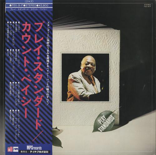 Count Basie Play Standards vinyl LP album (LP record) Japanese CUILPPL469212
