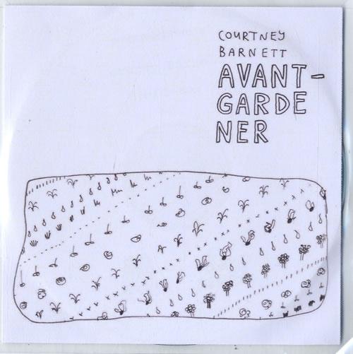 Courtney Barnett Avant Gardener CD-R acetate UK F6UCRAV615226
