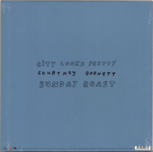 "Courtney Barnett City Looks Pretty - RSD18 - Sealed 12"" vinyl single (12 inch record / Maxi-single) UK F6U12CI695036"