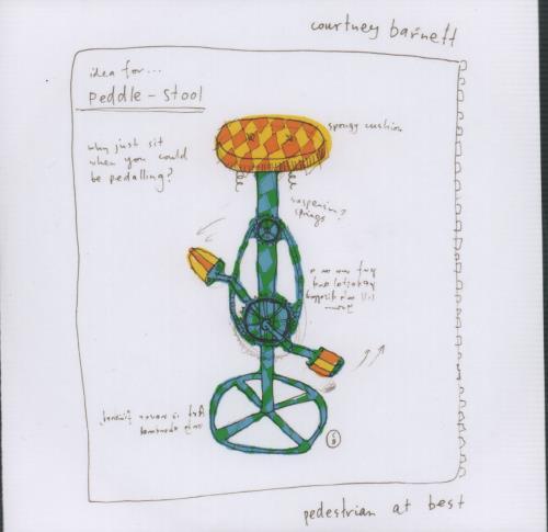 Courtney Barnett Pedestrian At Best CD-R acetate UK F6UCRPE665340