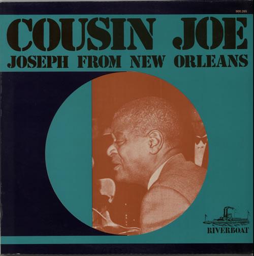 Cousin Joe Joseph From New Orleans vinyl LP album (LP record) French C61LPJO629156