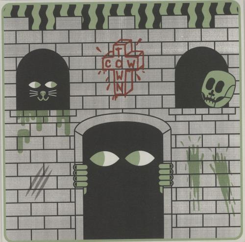 "Cowtown Castle - Green / Black Split Vinyl + Numbered Sleeve 7"" vinyl single (7 inch record) UK O-807CA685108"