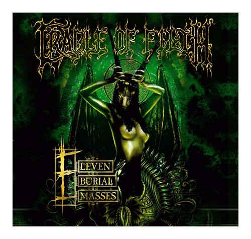 Cradle Of Filth Eleven Burial Masses 2-disc CD/DVD set UK DOF2DEL398076