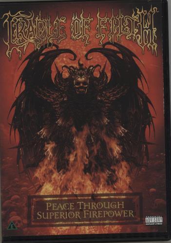 Cradle Of Filth Peace Through Superior Firepower DVD UK DOFDDPE684227