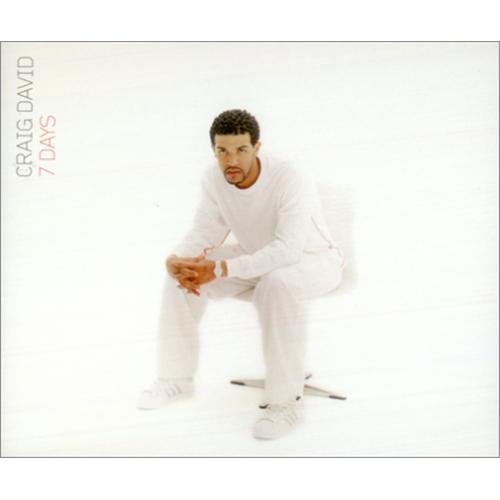 """Craig David 7 Days CD single (CD5 / 5"""") UK CDVC5DA214472"""