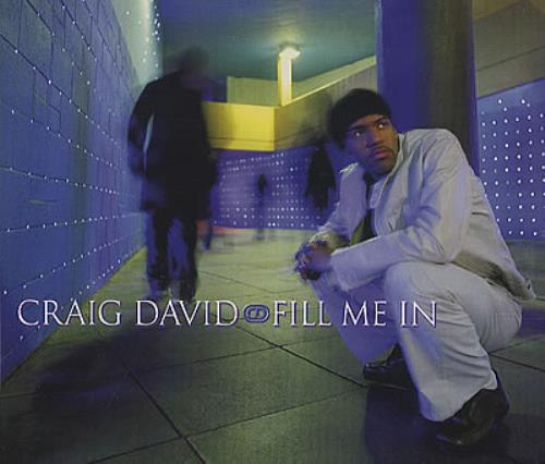 "Craig David Fill Me In CD single (CD5 / 5"") UK CDVC5FI385195"